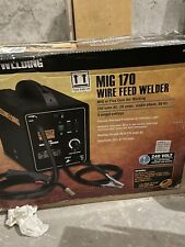 Chicago Electric Welder Mig 170 Wire Fed