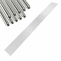 10x/Set 330mm Silver Stainless Steel Soldering Welding Rods Workshop Power Tool