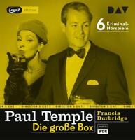 PAUL TEMPLE-DIE GROßE BOX - DURBRIDGE,FRANCIS- ORIGINAL-RADIOFASSUNGEN 6 CD NEW
