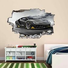 Supercar Sports Car Wall Art Sticker Mural Decal self-adhesive Print Vinyl BL7