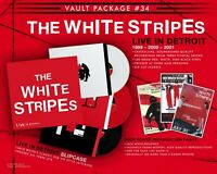 """NEW COMPLETE MINT Third Man Records Vault 34 The White Stripes """"Live In Detroit"""""""