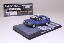 James Bond #53: Renault 11 taxi de una vista para matar a un automóvil Completo, Excelente En Caja