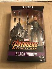 """Marvel Legends BLACK WIDOW Avengers Infinity War 6"""" Figure Cull Obsidian BAF"""