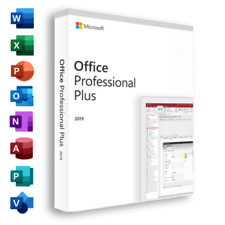 ✅MS®Office Pro 2019 Plus 32/64 Bits Professional 1 PC Genuine License Key✅