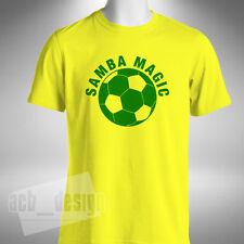 Samba Magic Mens T-Shirt Brazil Liverpool Football Fabinho Firmino Neymar Becker