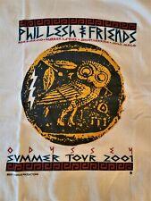 Phil Lesh & Friends  Odyessey 2001 Tour Shirt XL Brand New   The Q