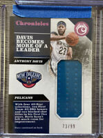 Anthony Davis 2017-18 Chronicles Game Worn Patch /99