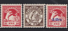 Norway Local Post 1906 Spitsbergen Stamp set Gummed MNH Reproduction Stamp sv