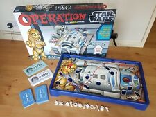Hasbro Star Wars Operation Game, in good condition board game strategy WORKING