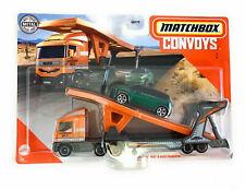 "Matchbox Super Convoy ""B"" MBX Cabover, Auto Transport Trailer 2011 Mini.... 1:64"