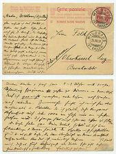 10344 - Ganzsache - Postkarte - Wildhaus 24.8.1909 nach Oberkassel Rheinpreußen