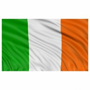 IRELAND TRI COLOURS NATIONAL FLAG 5FT x 3FT LARGE IRISH REPUBLIC EIRE ST PATRICK