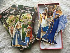 AS IS Tchaikovsky The Sleeping Beauty Symphony Souvenir Paper Dolls Booklet Box