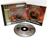 Mortal Kombat Trilogy ~ Sony Playstation PS1 ~ PAL *Disk Excellent Case Damaged*