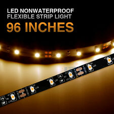 12V 96inch Flexible LED Awning Light RV Caravan Boat Porch Party Indoor Décor WW