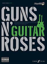 Guns N Roses Authentic Playalong PARADISE CITY Guitar Tab FABER Music BOOK & CD