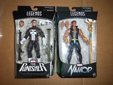 "Marvel Legends 6"" figure Walgreens Exclusive Punisher & Namor new in box"
