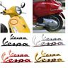 3D Emblem Decal Sticker Fits For Piaggio Vespa GTS GTV LX LXV 125 250 300 Super