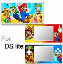 Super Mario & Luigi SKIN STICKER DECAL for DS LITE #4