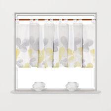 Scheibengardine Schlaufenpanneaux Bistrogardine 2275 08 45 x150 cm Grün Grau