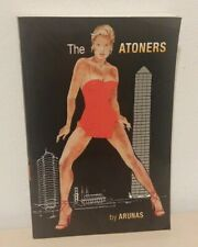 EROTIC THRILLER The Atoners by Arunas 2006 paperback
