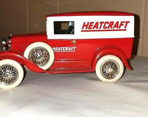 Liberty Classics Heatcraft Ford Model A Delivery Van With Spare Tire Coin Bank