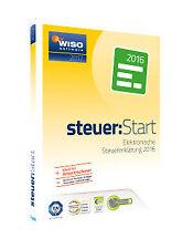 Buhl WISO steuer:Start 2017 (Steuerjahr 2016) Elektronische Steuererklärung 2016 Software (KW42555-17)