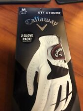 Callaway Golf Glove * Men's Medium * 2 Pack !