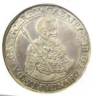 1621 Hungary Transylvania Gabriel Bethlen Taler Coin 1T. Certified NGC AU Detail