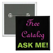 """Business Builder Buttons: """"Ask Me"""" Marketing Pin Back Buttons"""