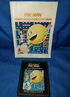 Pac-Man (Atari 2600) - Cartridge and Booklet