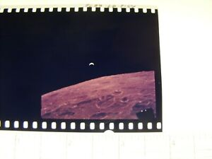 NASA APOLLO MISSION 1st GENERATION FROM MASTER 70mm NEGATIVE EARTHRISE