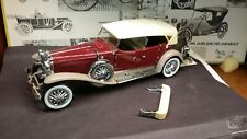 Franklin Mint 1930 Duesenberg Tourster 1/24