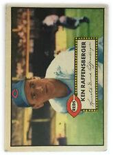 1952 Topps Baseball Card • Ken Raffensberger • #118