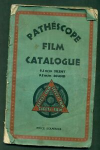 PATHESCOPE FILM CATALOGUE - 1941  55  PAGES
