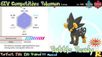 6IV COMPETITIVE LUXRAY ⚔️ SHINY / ULTRA or NOT 🛡 SWORD & SHIELD