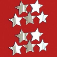 Decorativo Mini Estrella Espejos - Paquete De Veinte - 2x 2cm Cada