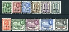 SOMALILAND-1951 New Currency Set to 5/- on 5r Sg 125-135 MOUNTED MINT V13666