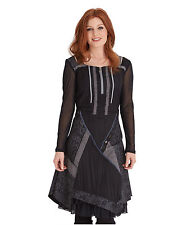Long Sleeve Polyester No Pattern Boat Neck Dresses for Women