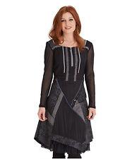 Polyester Boat Neck Patternless Dresses for Women
