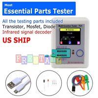 """B3 Color 1.8"""" TFT ESR Meter Transistor Resistor Diode Triode Capacitor Tester"""