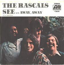 RASCALS--PICTURE SLEEVE + 45---(SEE)----PS---PIC---SLV