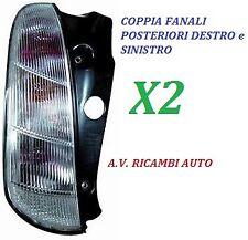 COPPIA FANALI FANALINO STOP POSTERIORE DX - SX LANCIA Y YPSILON DAL 2006 IN POI