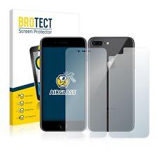 Airglass Pellicola Vetro Apple iPhone 8 (anteriore Posteriore) Proteggi