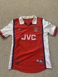 Dennis Bergkamp 1997-1998 Arsenal Kit Jersey - Medium - Feels Like New
