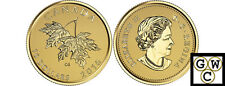 2016Maple Leaves with 2003 Queen Elizabeth II Effigy'1/4oz Gold .9999Fine(17598)
