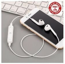 Headphones Earphones Mic Volume Remote MP3 gym, jogging, FOR SAMSUNG IPHONE ETC