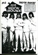ROCK HOUSE Fanzine No.3  (1991)  60s Beat / Garage / Mod & Psych / The Renegades
