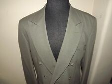 STYLISH JOHN HENRY 2 PC Suit Size 42L - DOUBLE BREASTED - GRAYISH