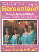SCREENLAND  December 1968 (12/68) - Complete Issue